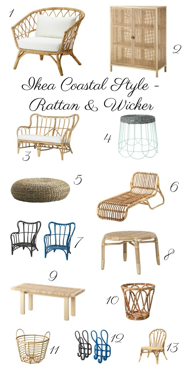 Here Are Some Of My Favorite Ikea Rattan Pieces