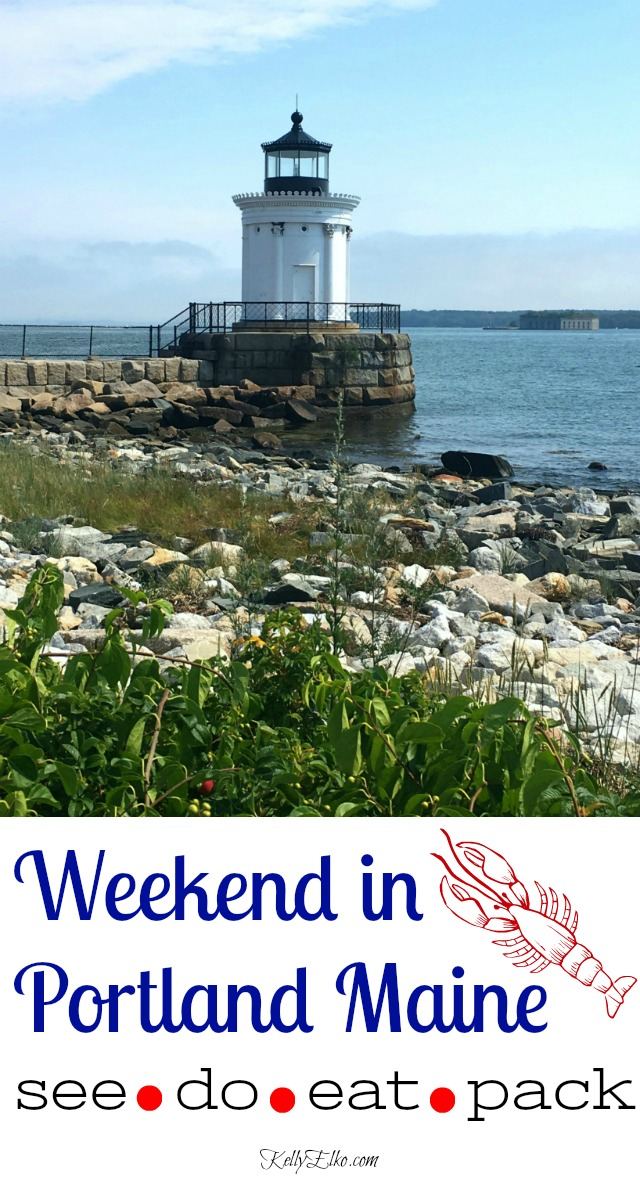 Weekend Portland Maine - get off the beaten path and discover the best restaurants, tours, things to do and what to pack kellyelko.com