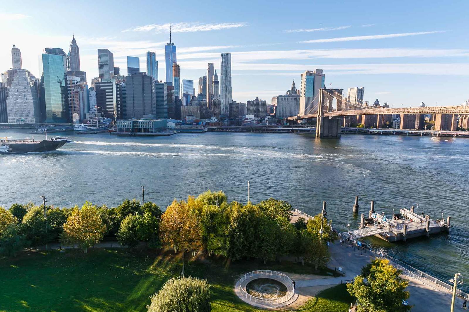 Views of Manhattan from Brooklyn kellyelko.com