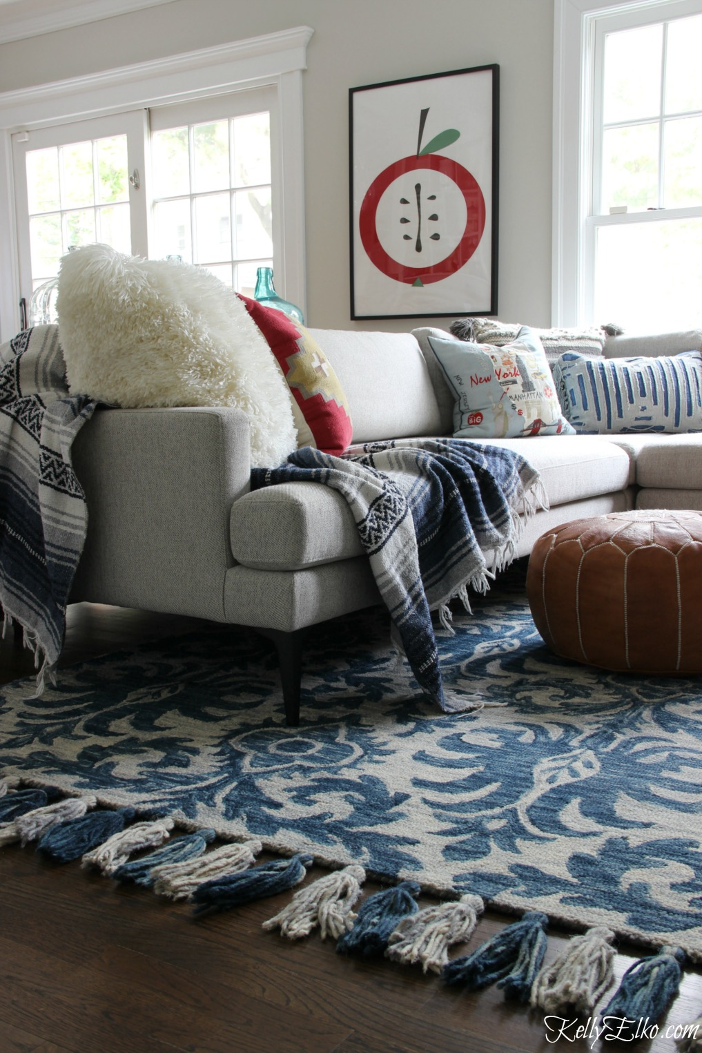 How To Find The Right Size Rug For Family And Living Rooms
