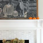Falling for Vintage & Modern – Fall Living Room