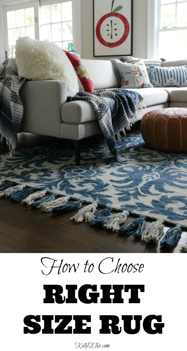 How to Choose the Right Size Rug kellyelko.com