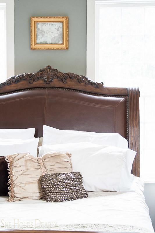 Farmhouse tour master bedroom