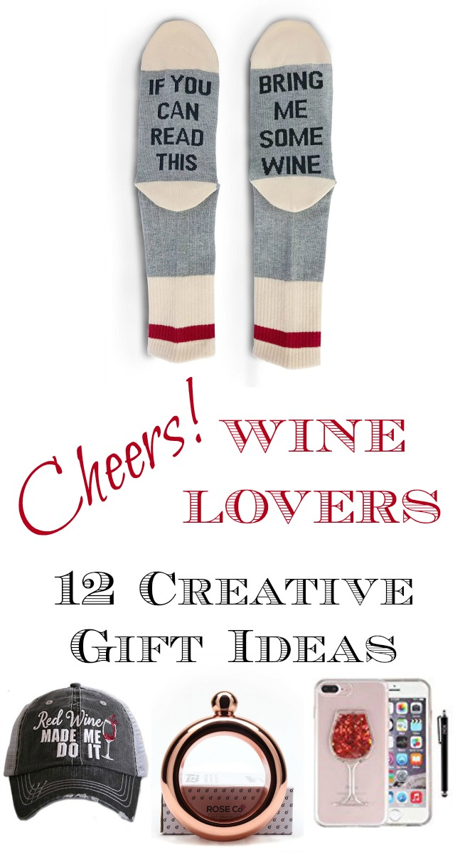Creative Wine Gift Ideas for Wine Lovers kellyelko.com