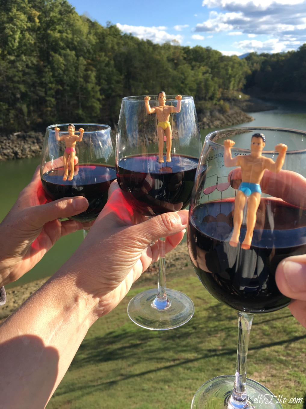 12 Wine Lover Gifts - Love these Drinking Buddies Drink Markers kellyelko.com