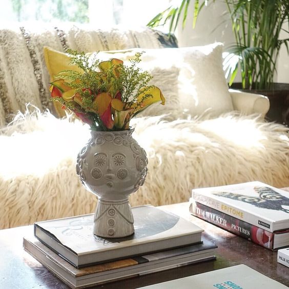 Love this Jonathan Adler head vase