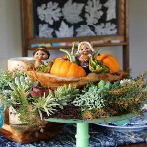 Thanksgiving Table kellyelko.com
