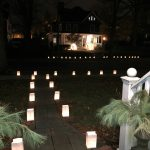 Christmas Luminaries - a town tradition kellyelko.com