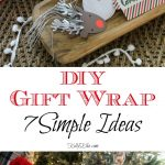 DIY Gift Wrap Ideas kellyelko.com