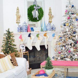 Eclectic Home Tour – Megan Martin Creative Christmas