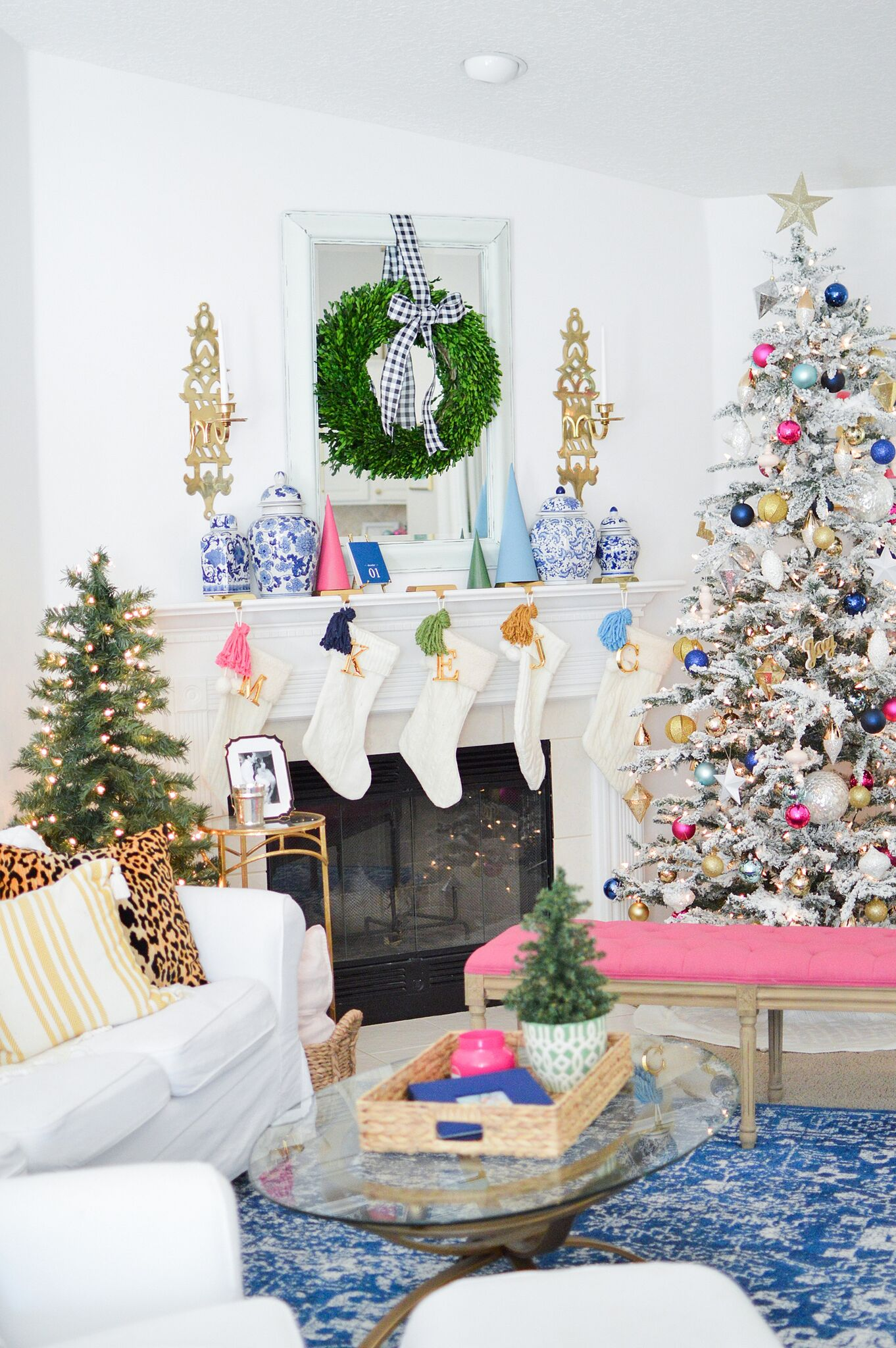 Christmas Eclectic Home Tour - Megan Martin Creative