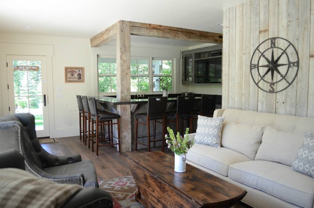 Eclectic Home Tour of Sanctuary Home - welcome to Crow Hollow Ranch. This 500 acre property is complete with farmhouse, guest house and rustic cabin kellyelko.com #hometour #kitchen #smallhome #tinyhome #rusticdecor #barnwood #whitekitchen #homedecor