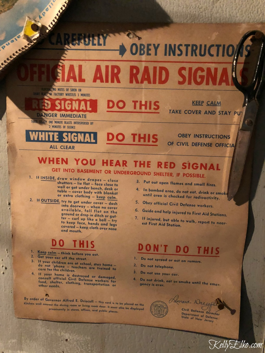 Vintage air raid signal instructions kellyelko.com