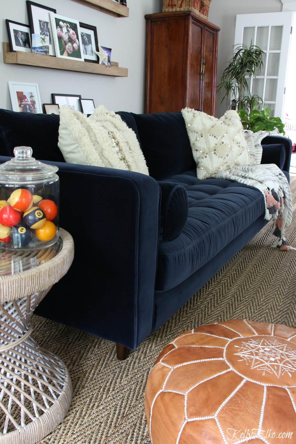 Sven Sofa Review One Year Later And A Giveaway Kellyelko