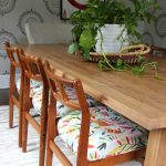 Article Dining Table kellyelko.com #diningroom #diningtable #ourarticle #otomi #colorlovers #midcentury #danishmodern #vintagestyle #eclecticstyle #bohostyle
