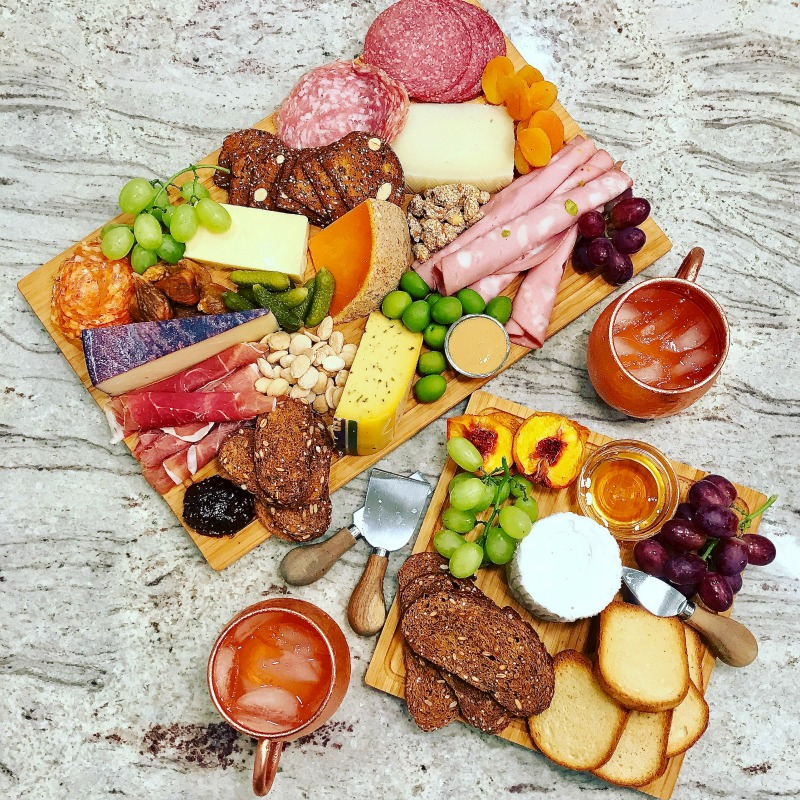 How to Make Epic Charcuterie Boards kellyelko.com #charcuterie #charcuterieboards #recipes #snacks #appetizers