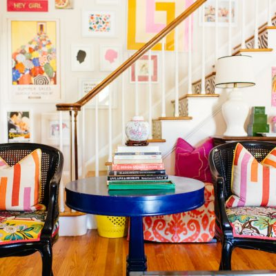 Eclectic Home Tour Effortless Style kellyelko.com #colorlovers #colorful #hometour livingroom #interiordecor