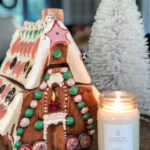 Christmas Decorating Questions Answers kellyelko.com #christmas #christmasdecor #christmasdecorating #vintagechristmas #farmhousechristmas #gingerbreadhouse