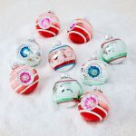 Must have Christmas decor includes these new vintage looking Shiny Brite ornaments kellyelko.com #christmas #shinybrites #christmasornaments #christmasdecor #christmasdecorations #christopherradko