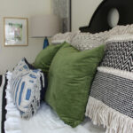 Master bedroom sources kellyelko.com #bedroom #masterbedroom #bedroomdecor #interiordecor #interiordecorate