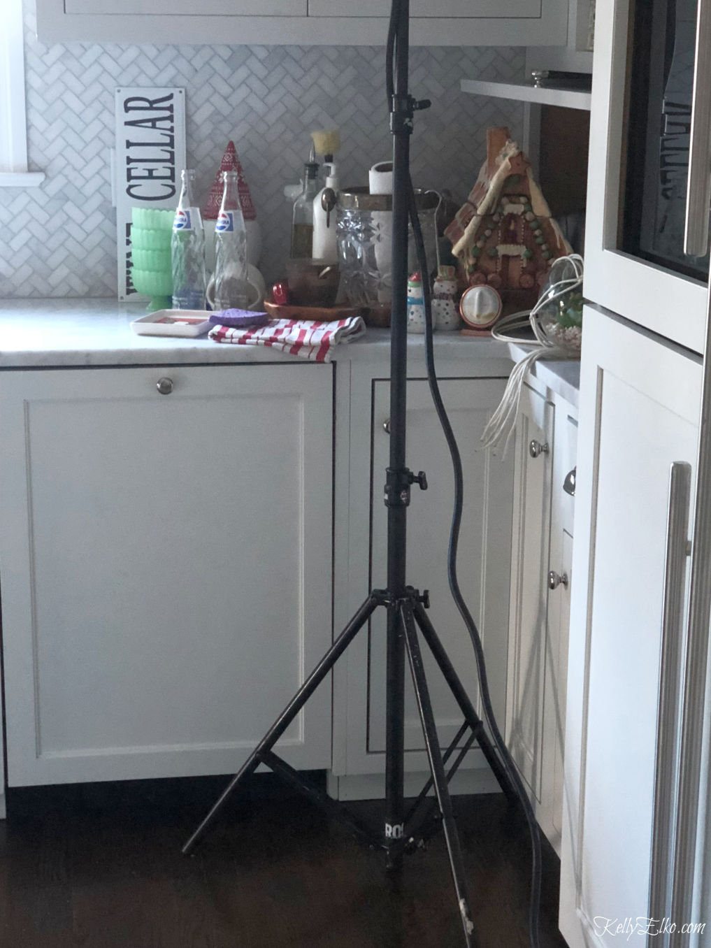 Behind the scenes Better Homes and Gardens photo shoot kellyelko.com