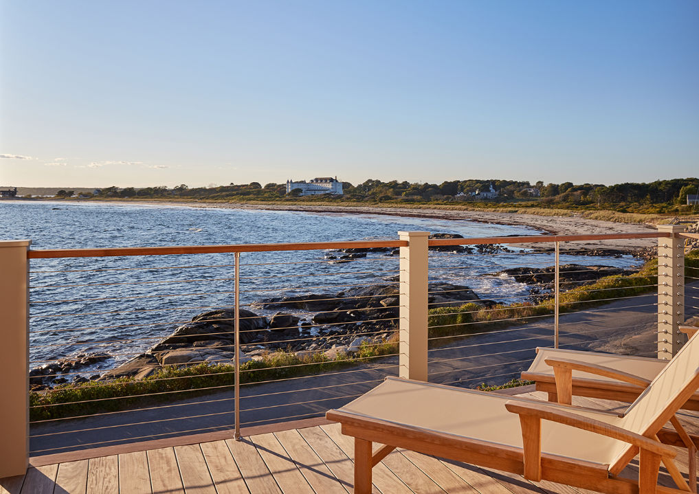 Deck with a view! kellyelko.com #deck #coastalhome