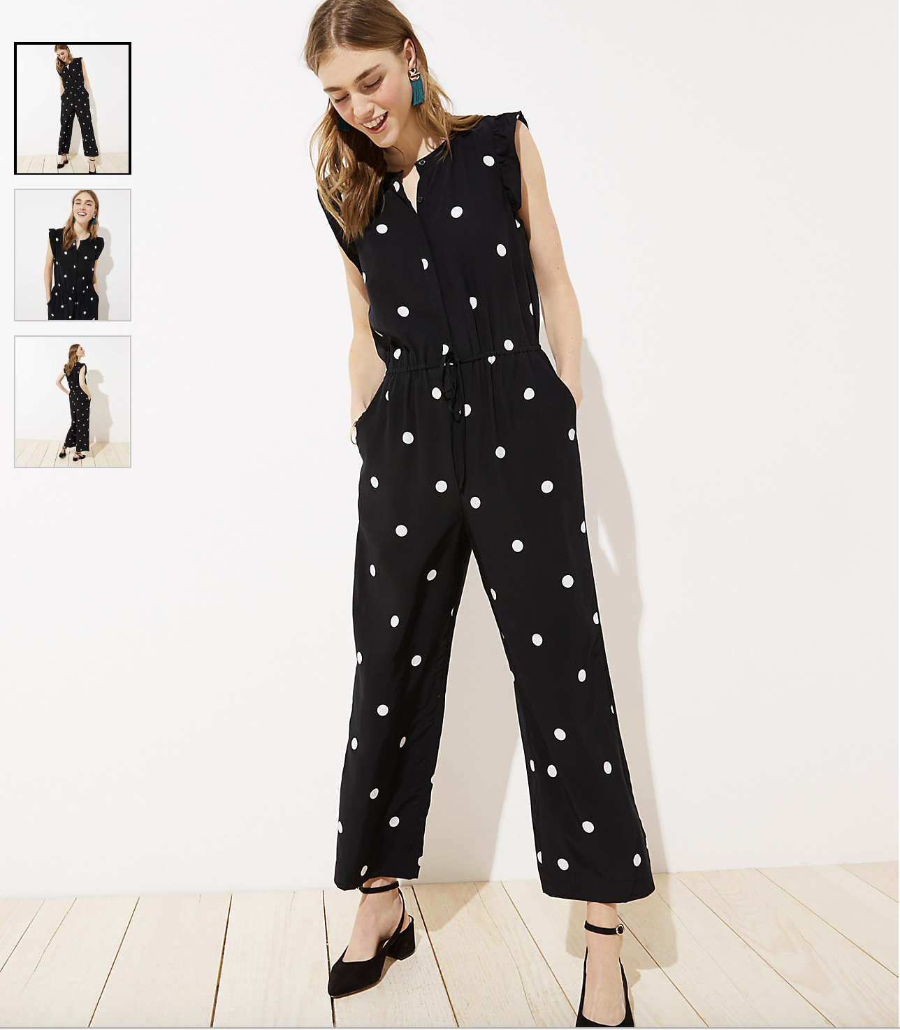 I Heart Jumpsuits - see some of the most flattering ones kellyelko.com #jumpsuits #spring #clothes #wardrobestaples