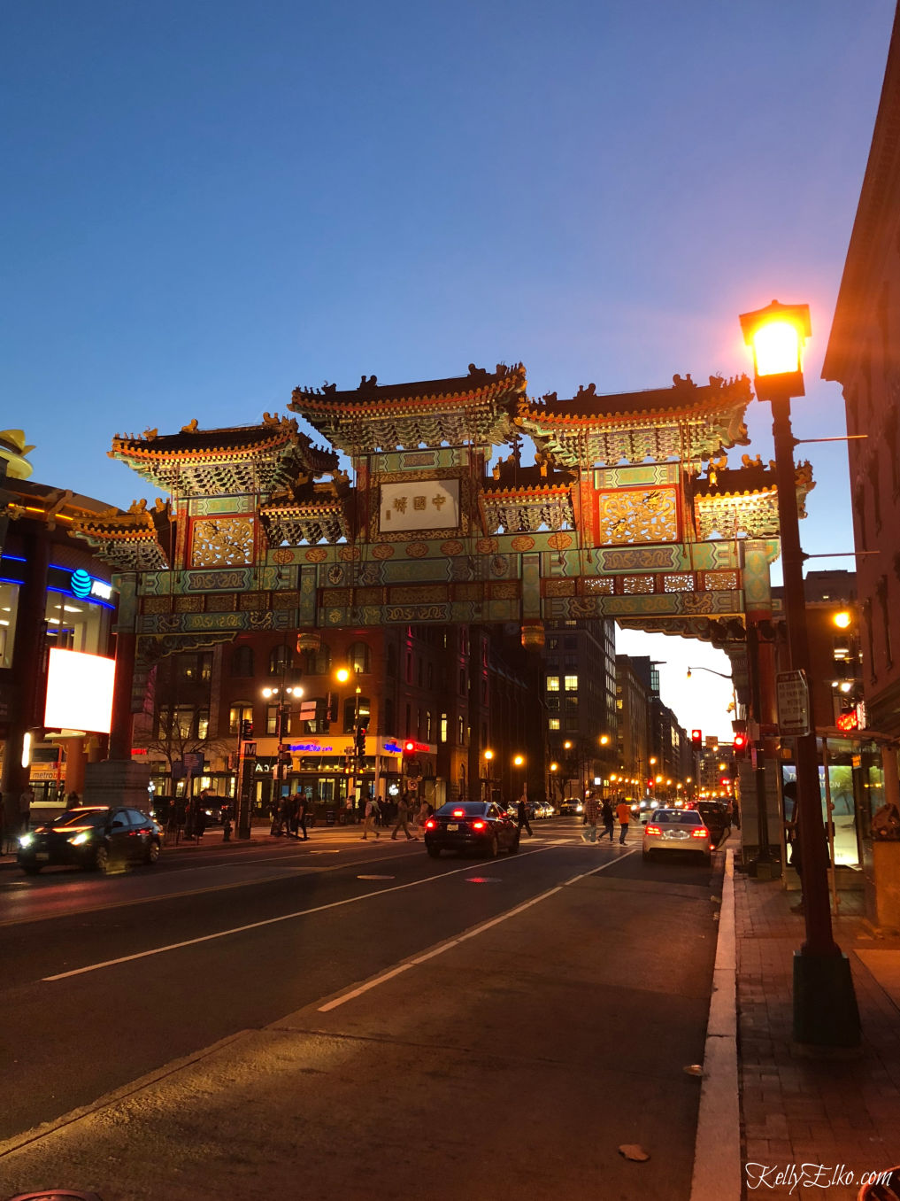 Weekend in Washington DC - Chinatown is such a fun part of town kellyelko.com #chinatown #friendshiparchway #travel #travelblogger #washingtondc #dc #vacation #familytravel #getaway #escape