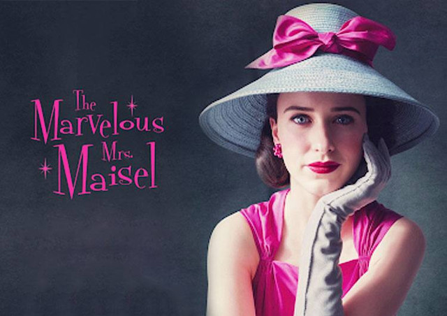 10 Best Shows to Binge Watch - The Marvelous Mrs. Maisel - kellyelko.com #bingewatch #tvshows #whattowatch