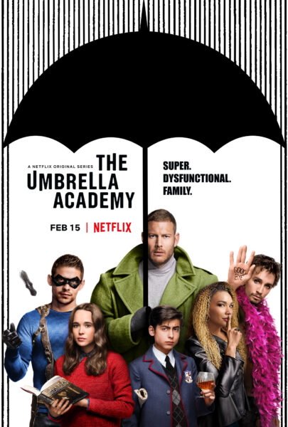 10 Best Shows to Binge Watch - The Umbrella Academy - kellyelko.com #bingewatch #tvshows #whattowatch