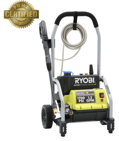 Ryobi Pressure Washer kellyelko.com #pressurewasher #ryobi #ryobioutdoors #cleaningtips #cleanhouse