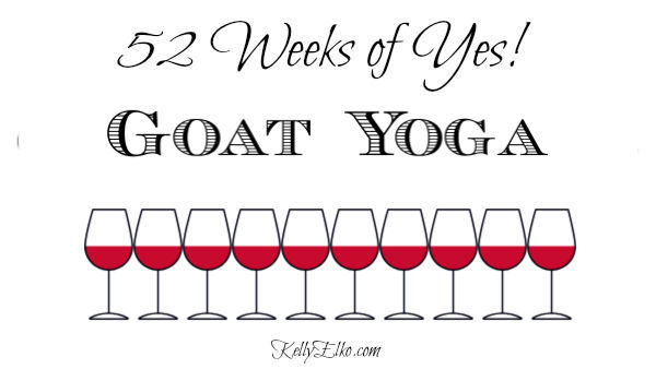 Goat Yoga review kellyelko.com