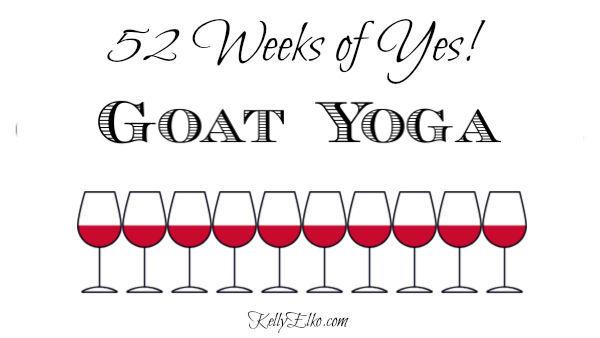 Goat Yoga review kellyelko.com