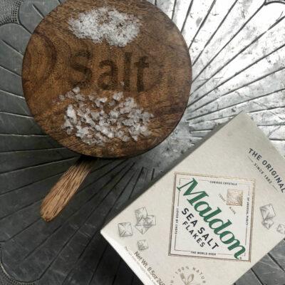 Kelly's Stamp of Approval kellyelko.com #seasalt #saltflakes #foodie