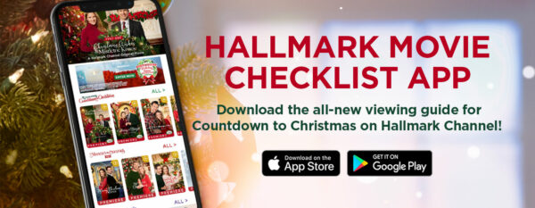 Hallmark Christmas movies - there's an app for that!