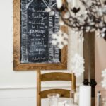 Creative Christmas Chalkboard Art Ideas #chalkart #chalkboard #christmasart #christmasdecor #farmhousedecor