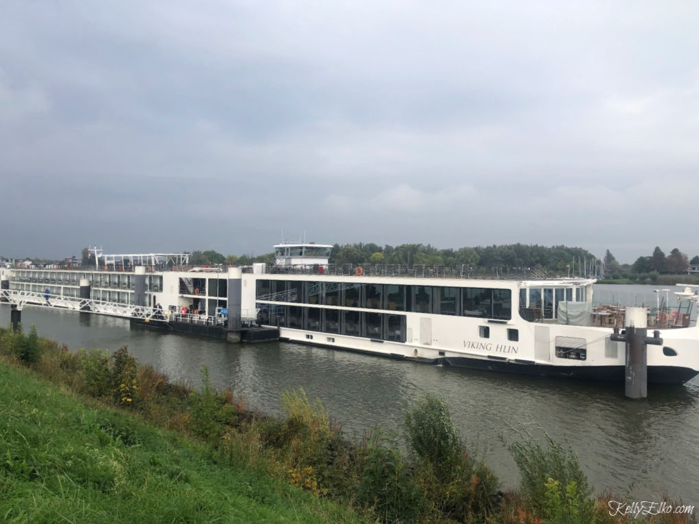 Viking River Cruise Rhine Review - everything you need to know to decide if a river cruise is right for you kellyelko.com #myvikingstory #vikingrivercruise #vikingcruise #rhinecruise #rhineriver #travel #travelblog #travelblogger #vikinglongship #kellyelko