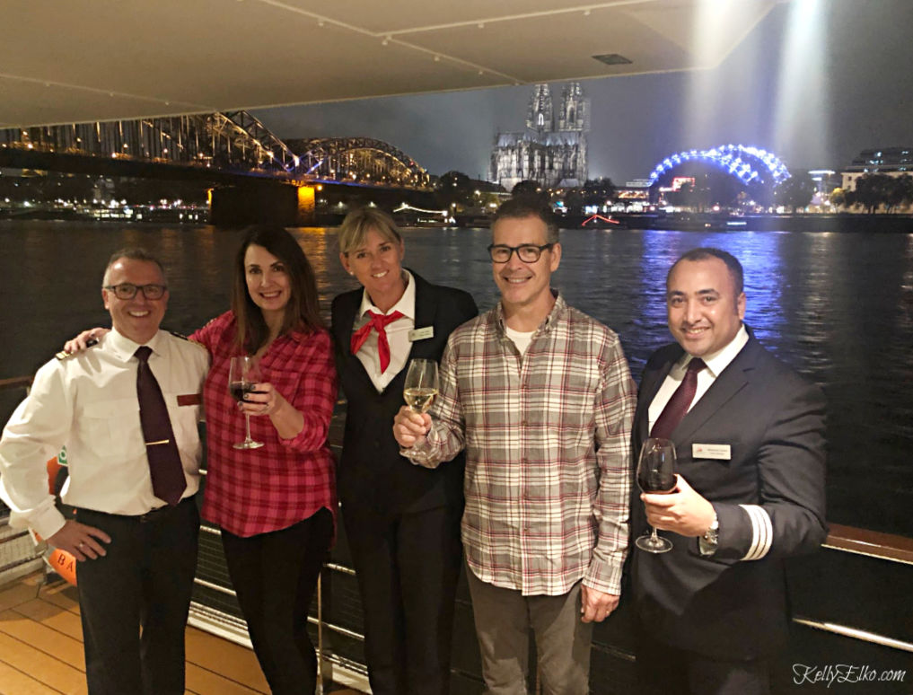 Viking River Cruise crew! See what it's really like to take a River Cruise kellyelko.com #rivercruise #vikingrivercruise #rhineriver #colognegermany #travel #travelblog #travelblogger