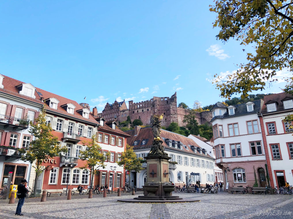 Explore the town of Heidelberg Germany kellyelko.com #heidelberg #germany #exploreeurope #europeantravel #luxurytravel #travelblog #travelblogger