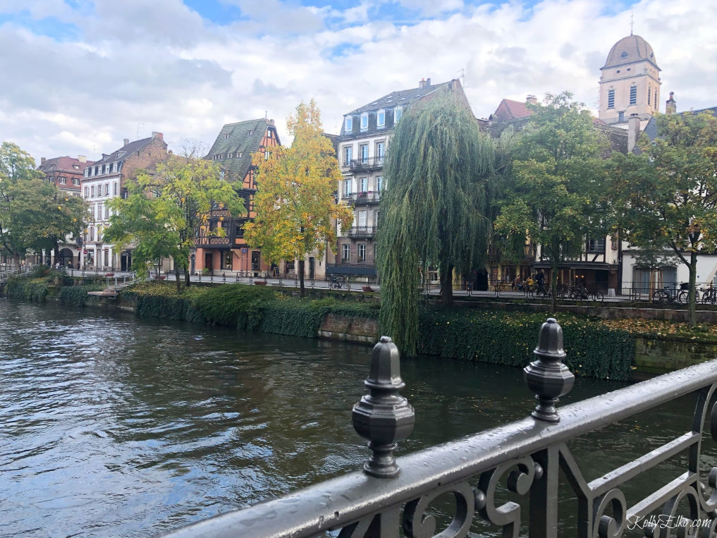 Love the storybook town of Strasbourg France kellyelko.com #strasbourg #france #travel #luxurytravel #rivercruise #canals #exploreeurope #travelblogger