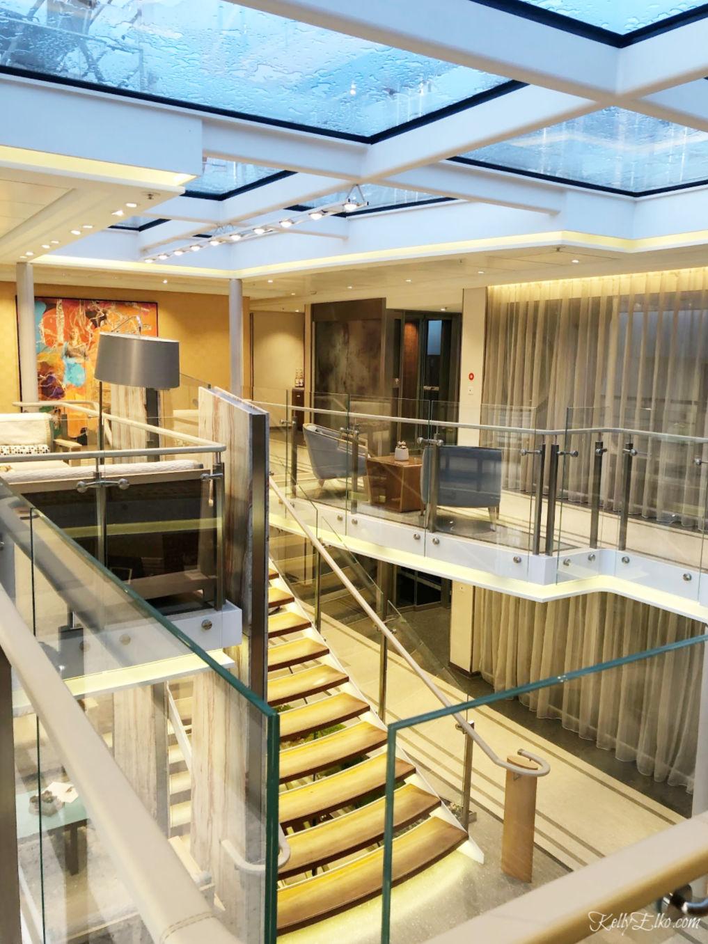 Viking River Cruise lobby - love the glass ceiling kellyelko.com #vikingrivercruise #vikingcruise #rivercruise