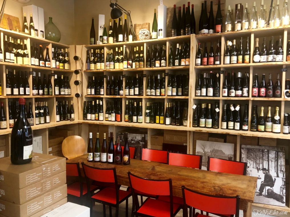 Lovely little wine shop in Strasbourg France kellyelko.com #wine #winestore #strasbourg #strasbourgrfrance #frenchwine #alsacewine #alsace #foodtour #rivercruise