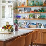 Eclectic Home Tour Casa Watkins Living kellyelko.com #kitchen #kitchendecor #hometour #housetour #vintagedecor #openshelves #eclecticdecor