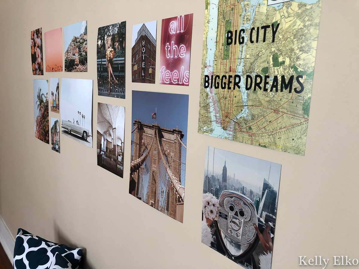 Love this pack of photos that create an instant gallery wall #gallerywall #art #cheapart #apartmentdecor