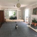 Why every rug needs a rug pad kellyelko.com #rug #rugpad #hardwood #hardwoodfloors #tipsandtricks