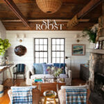 Eclectic Home Tour Sea Roost - a charming cottage on the beach of Montauk kellyelko.com