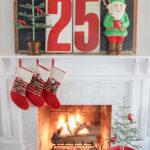 Home Sweet Home Christmas Home Tour kellyelko.com #christmas #christmashometour #christmastour #vintagechristmas #retrochristmas #colorfulchristmas #christmasmantel #farmhousechristmas