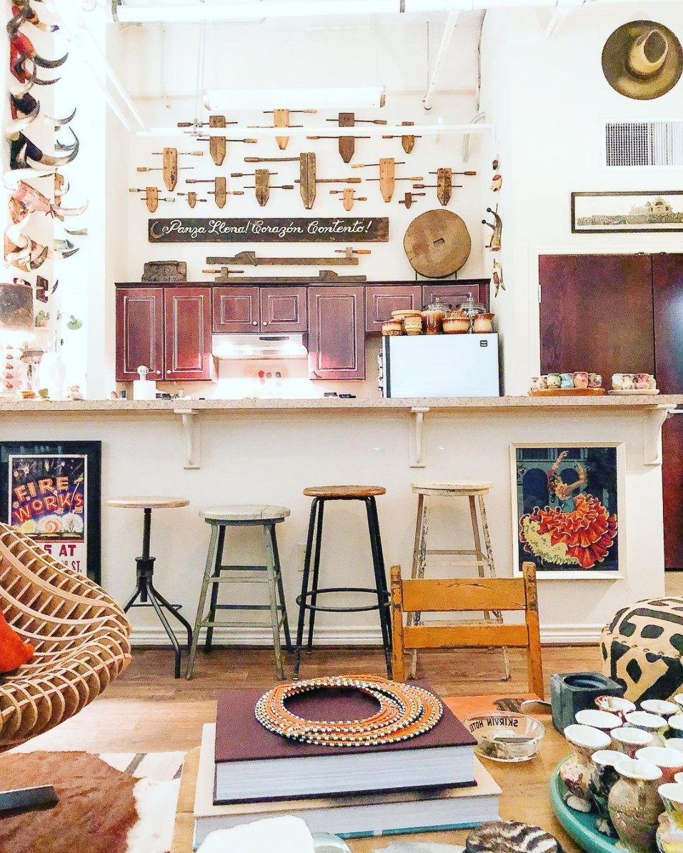 Beautiful space filled with unique collections kellyelko.com