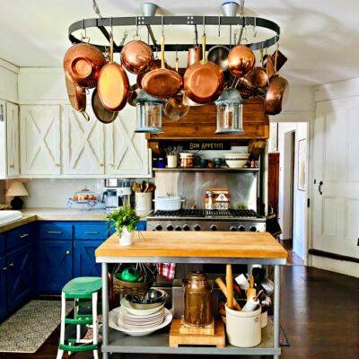 Eclectic Home Tour Farmhouse 1820 kellyelko.com