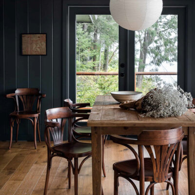 Eclectic Home Tour Heidi Caillier Design Cabin and Snug kellyelko.com